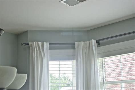 13 ft curtain rod 17 best images about condo window treatments on pinterest