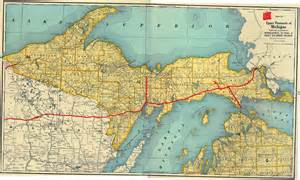 Map Of Up Michigan by Copper Country Maps For All Those Folks Who Follow
