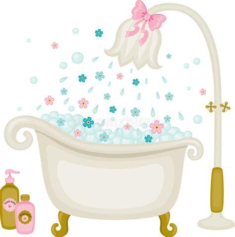 bathtub illustration vintage bath illustration stock vector illustration of