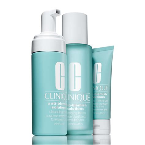 Clinique Anti Blemish Solution clinique anti blemish solutions 3 step system feelunique