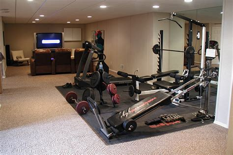 Man Bathroom Ideas by Home Gym Ideas Designing A Home Gym In Your Finished Basement