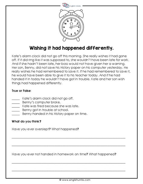 Short Story - Wishing it had happened differently