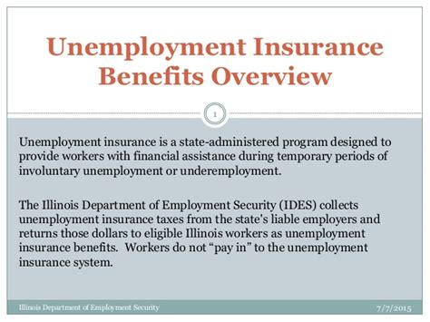 a to z list of state unemployment insurance offices and unemployment basics from ides