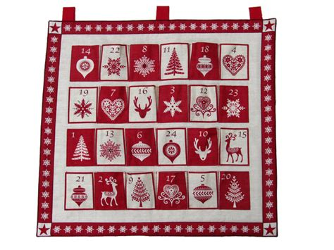 calendar kit kit scandinavian advent calendar fabric panels and kits