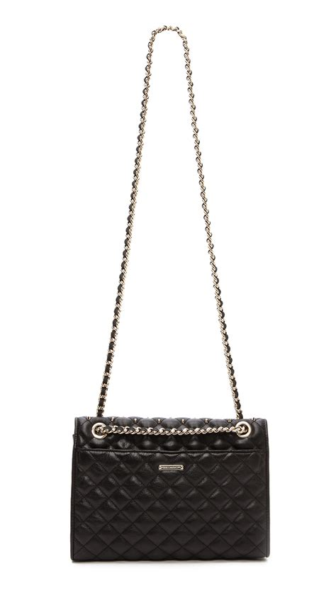 Minkoff Quilted Affair Black by Minkoff Quilted Affair Bag With Studs In Black Lyst