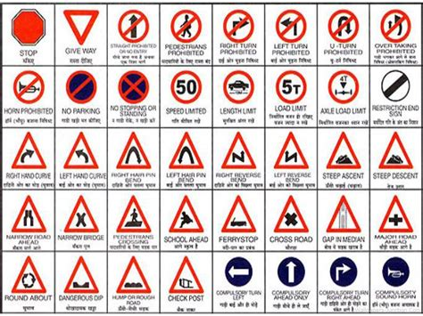 printable road signs and meanings 5 best images of printable traffic signs and symbols