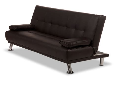 faux leather sofa bed venice sofa bed in faux leather