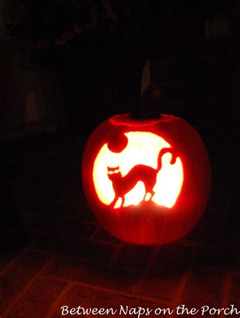 Pumpkin Carving Cat Templates by Decorating Ideas Table Settings And