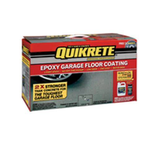 Garage Floor Cleaner Lowes quikrete epoxy garage floor coating at lowes garage