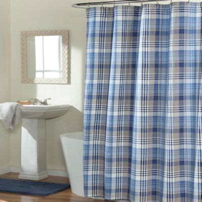 masculine bathroom shower curtains 1000 ideas about plaid shower curtain on pinterest