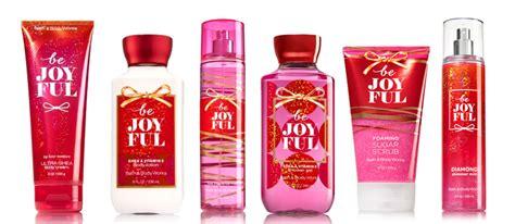bath and body works bath body works be joyful fragrance collection the