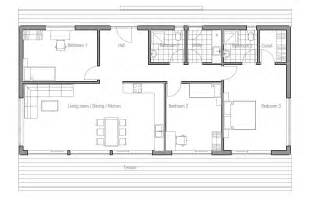 small wide floor plans house plan ch64