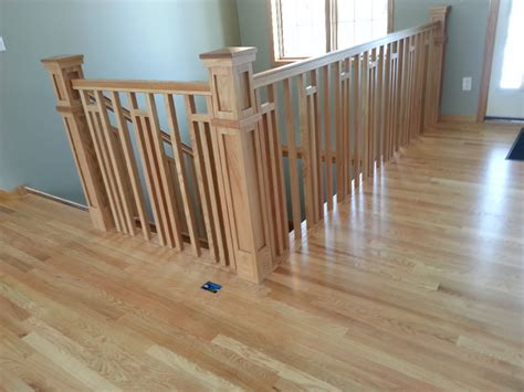 Stairway Design by Frank Lloyd Wright Style Railing Mystairways