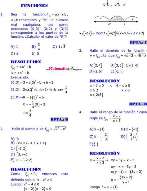 imagenes de matematicas resueltos funciones 20 ejercicios desarrollados matematicas