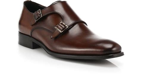 to boot glenn monk shoes in brown for