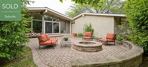 mid century houses glen ellyn midcentury modern home modern chicago homes