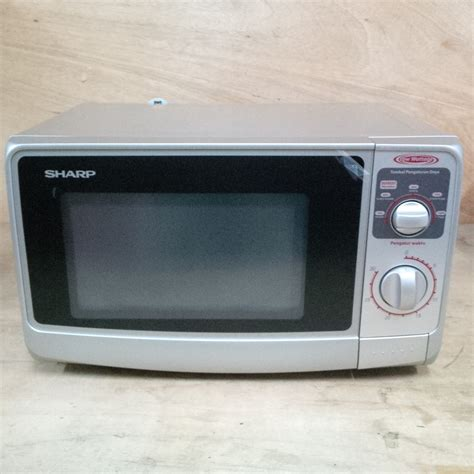Microwave Oven Sharp R 222y sharp microwave sharp r 222y silver elevenia