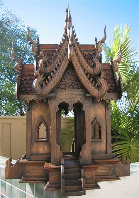 Nongnit S Treasures Thai Spirit Houses