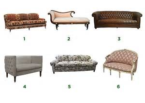 a guide to types and styles of sofas settees 1