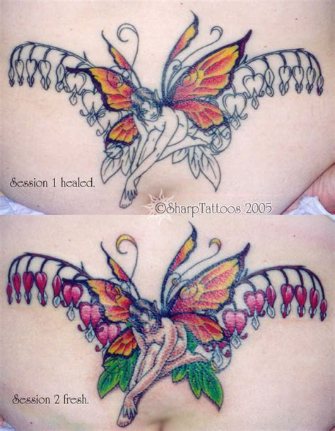 bleeding heart flower tattoo sharptattoos bleeding butterfly and flower for