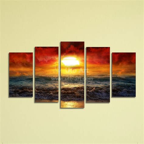 cheap canvas wall decor cheap 5 panel wall painting decor canvas