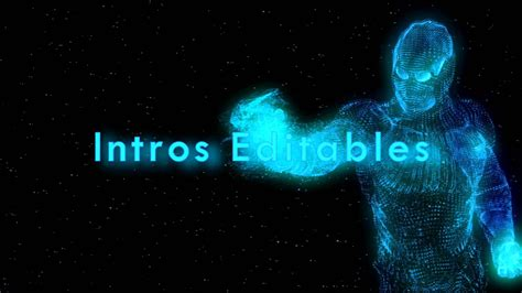 intro iron man editable template sony vegas hd youtube