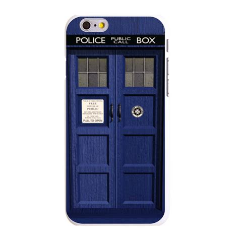 In On Tardis Call Box Iphone Sem Custom Cover For Iphone 5 5s 6 6s Plus