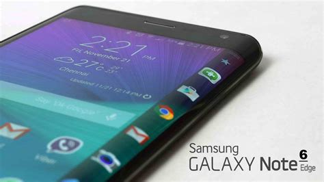 Samsung Galaxy Note 6 samsung working on two screen designs for the flagship