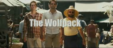 Beard low cut enough said the wolf pack is back the hangover part ii