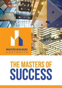 Master Of Mba In Australia by Master Builders Australia Mba Business World Australia