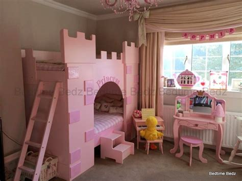 Princess Castle Bunk Beds Princess Castle Theme Bunk Or Cabin Bed Bedtime Bedz
