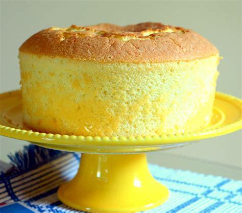 light fluffy cake recipe lemon chiffon cake a simple light and fluffy recipe