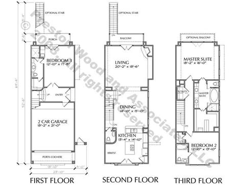 duplex row house floor plans modern row house plans
