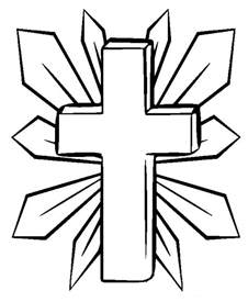 cross coloring pages printable cross coloring pages coloring me