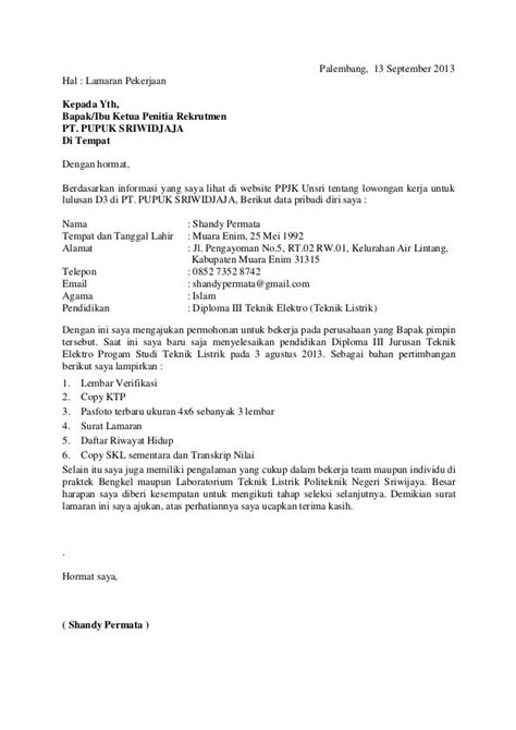 contoh application letter marketing executive contoh application letter project manager kimcil i