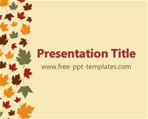 free fall powerpoint templates september 2013 free powerpoint templates