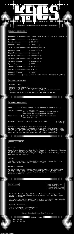 Kaos Gta V Grand Theft Auto V kaoskrew view topic grand theft auto v v1 36 repack kaos