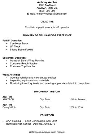 General Resume Template by General Resume Template Gfyork