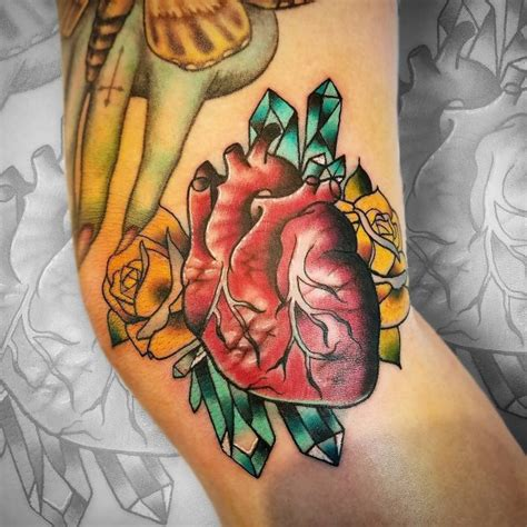 tattoo meaning health 110 best anatomical heart tattoo designs meanings 2018
