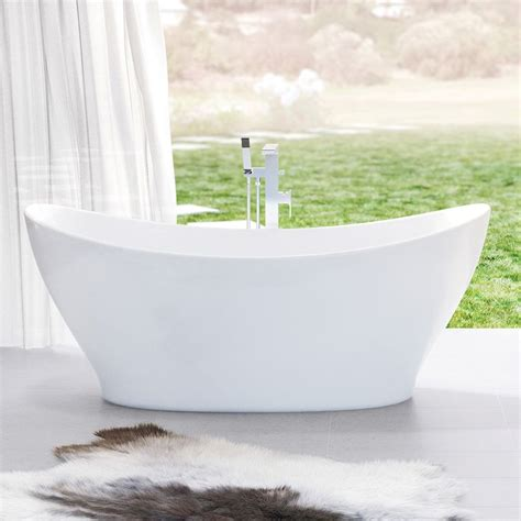 caroma bathtubs caroma cupid 1700 freestanding bath curved vessel design