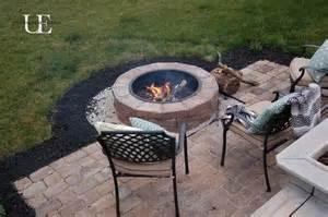 build pit on patio diy paver patio and pit hometalk