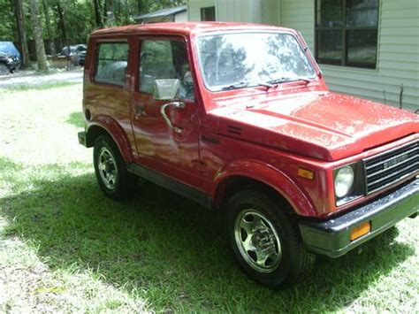 how can i learn about cars 1986 suzuki sj 410 instrument cluster buy new 1986 suzuki samurai 4x4 tin top in tallahassee florida united states for us 6 900 00