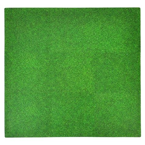 Home Depot Grass Mat by Tadpoles Grass Print 36 In X 36 In Floor Mat Set
