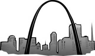 gateway arch st louis gateway arch clip art at clker com vector clip