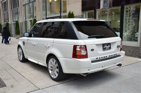 2008 land rover sport 2008 land rover range rover sport supercharged stock