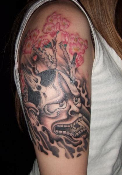 tattoo oriental demonio tatuaje hombro japoneses demonio por fact tattoo