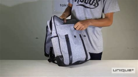 Tas Ransel Korea 14 by Unique Tas Ransel Laptop Backpack Korean Elite K 14 Grey