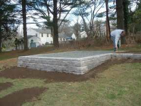 Shed Foundation Sheds And Foundation On