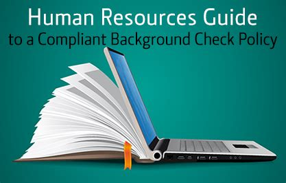 Human Resources Background Check Human Resources Guide To A Compliant Background Check Policy