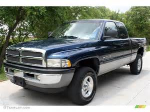 2000 Dodge Ram 1500 4x4 2000 Blue Pearlcoat Dodge Ram 1500 Slt Extended